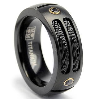 Oliveti-Black-plated-Titanium-Mens-Steel-Cable-and-Black-CZ-Band-8-mm-P15276929