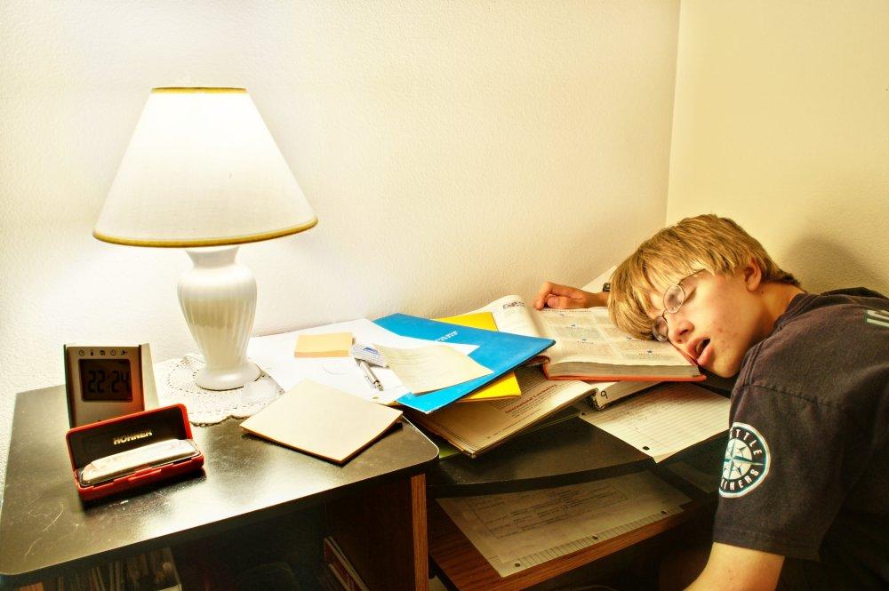 20101003_HomeworkWhileSleeping